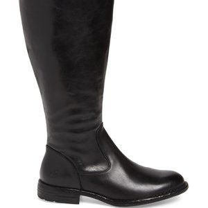NEW | BORN | North Leather Knee High Riding BOOTS